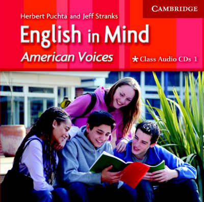 English in Mind 1 Class Audio CDs American Voices Edition (CD-Audio)