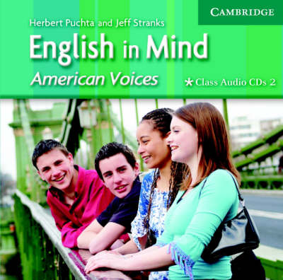 English in Mind 2 Class Audio CDs American Voices Edition (CD-Audio)