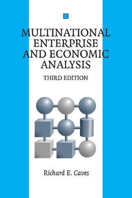 Multinational Enterprise and Economic Analysis - Cambridge Surveys of Economic Literature (Paperback)