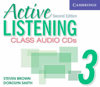 Active Listening 3 Class Audio CDs (CD-Audio)