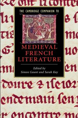The Cambridge Companion to Medieval French Literature - Cambridge Companions to Literature (Paperback)
