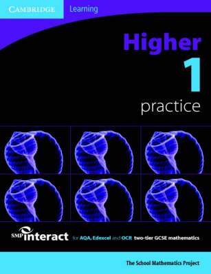 SMP GCSE Interact 2-tier Higher 1 Practice Book - SMP Interact 2-tier GCSE (Paperback)