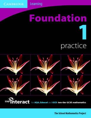 SMP GCSE Interact 2-tier Foundation 1 Practice Book - SMP Interact 2-tier GCSE (Paperback)