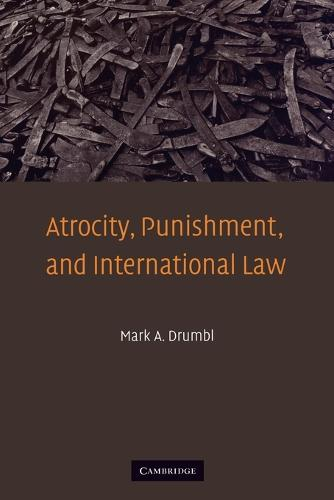 Atrocity, Punishment, and International Law (Paperback)