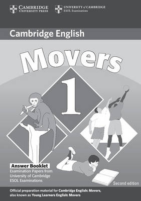 Cambridge Young Learners English Tests Movers 1 Answer Booklet: Examination Papers from the University of Cambridge ESOL Examinations (Paperback)