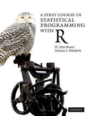 A First Course in Statistical Programming with R (Paperback)