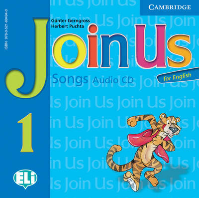 Join Us for English Level 1 Songs Audio CD Polish Edition (CD-Audio)