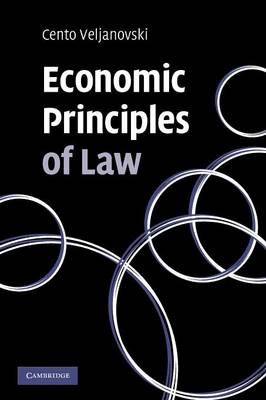 Economic Principles of Law (Paperback)