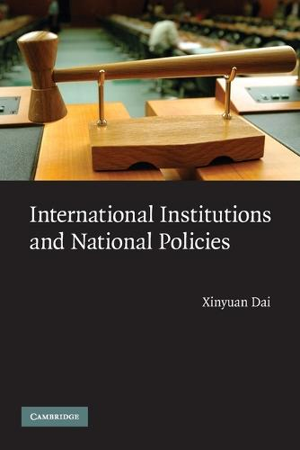 International Institutions and National Policies (Paperback)