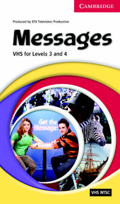 Messages Level 3 and 4 Video VHS NTSC and Activity Booklet: Levels 3 & 4