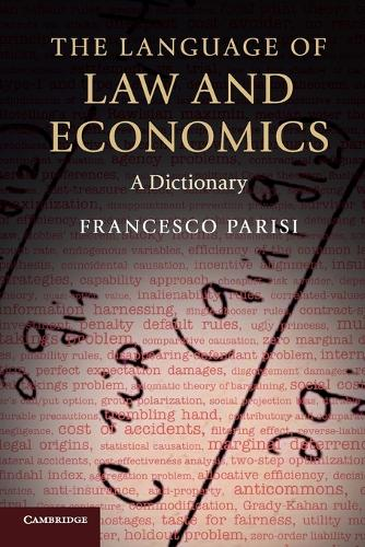 The Language of Law and Economics: A Dictionary (Paperback)