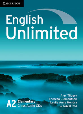 English Unlimited Elementary Class Audio CDs (3) (CD-Audio)