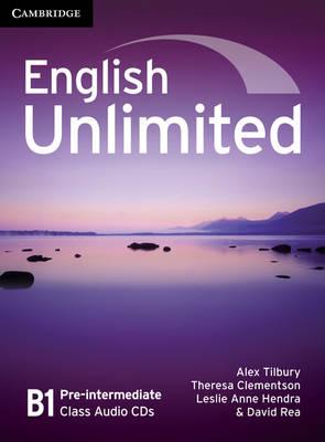 English Unlimited Pre-intermediate Class Audio CDs (3) (CD-Audio)