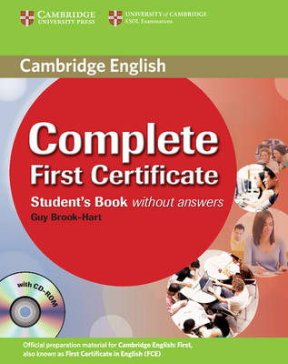 Complete First Certificate Student's Book with CD-ROM - Complete