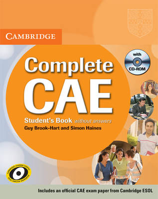 Complete CAE Student's Book without answers with CD-ROM - Complete