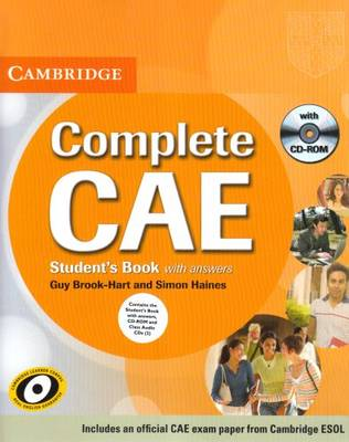 Complete CAE Student's Book Pack (Student's Book with Answers with CD-ROM and Class Audio CDs (3)) - Complete