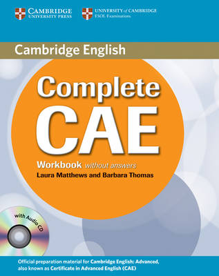 Complete: Complete CAE Workbook without Answers with Audio CD