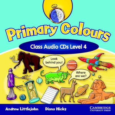Primary Colours Level 4 Class Audio CDs (CD-Audio)