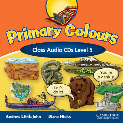 Primary Colours Level 5 Class Audio CDs (CD-Audio)
