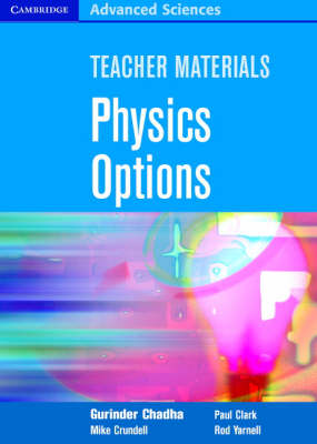 Teacher Materials Physics Options CD-ROM - Cambridge Advanced Sciences (CD-ROM)