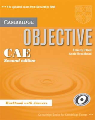 Objective CAE Workbook with Answers - Objective (Paperback)