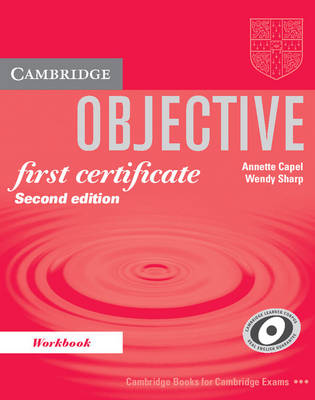Objective First Certificate Workbook - Objective (Paperback)