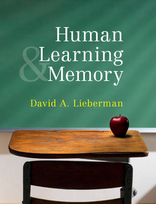 Human Learning and Memory (Paperback)