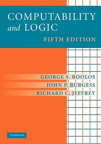 Computability and Logic (Paperback)