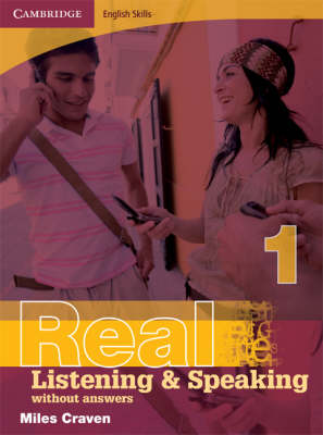 Cambridge English Skills Real Listening and Speaking 1 without Answers: Level 1 (Paperback)