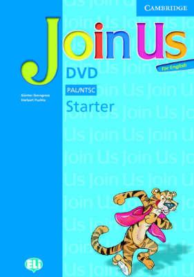 Join Us for English Starter DVD (DVD video)