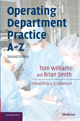 Operating Department Practice A-Z (Paperback)