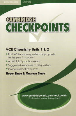 Cambridge Checkpoints VCE Chemistry Units 1 and 2: Untis 1&2 - Cambridge Checkpoints (Paperback)