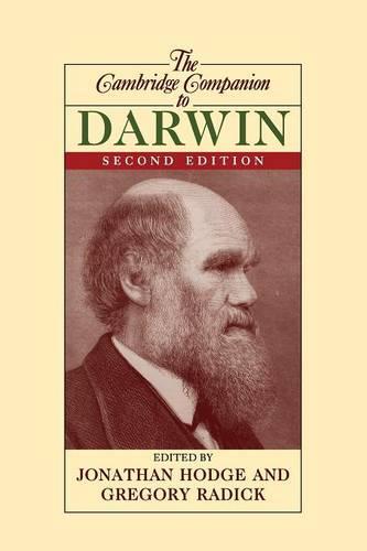 Cambridge Companions to Philosophy: The Cambridge Companion to Darwin (Paperback)