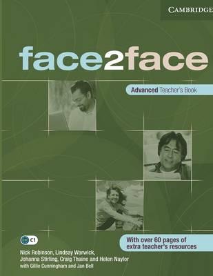Face2face Advanced Teacher's Book (Paperback)
