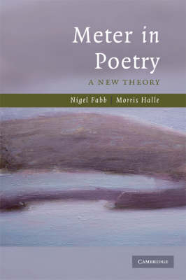 Meter in Poetry: A New Theory (Paperback)