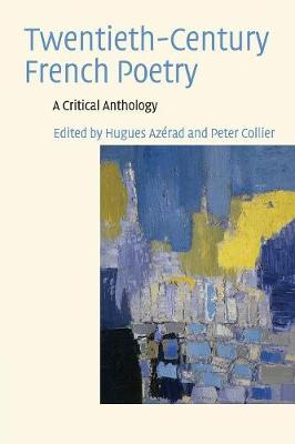 Twentieth-Century French Poetry: A Critical Anthology (Paperback)