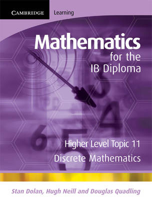 Mathematics for the IB Diploma Higher Level: Higher Level: Discrete Mathematics - IB Diploma (Paperback)