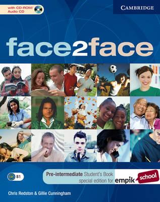 Face2face Pre-intermediate Student's Book with CD-ROM/Audio CD EMPIK Polish Edition