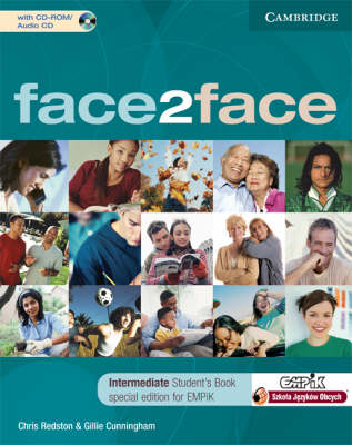 Face2face Intermediate Student's Book with CD-ROM / Audio CD EMPIK Polish Edition