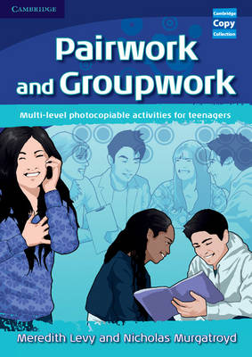 Pairwork and Groupwork: Multi-level Photocopiable Activities for Teenagers - Cambridge Copy Collection (Spiral bound)