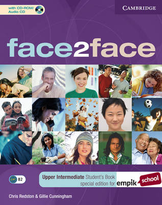 Face2face Upper Intermediate Student's Book with CD-ROM/Audio CD EMPIK Polish Edition
