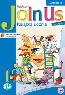 Join Us for English Level 1 Pupil's Book with Cd-rom Polish Edition