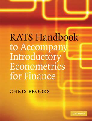 RATS Handbook to Accompany Introductory Econometrics for Finance (Paperback)