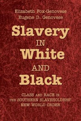 Slavery in White and Black: Class and Race in the Southern Slaveholders' New World Order (Paperback)