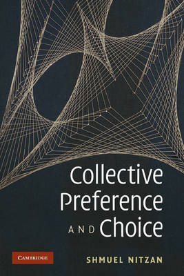 Collective Preference and Choice (Paperback)