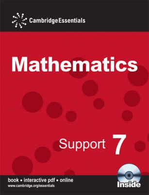Cambridge Essentials Mathematics Support 7 Pupil's Book with CD-ROM - Cambridge Essentials Mathematics