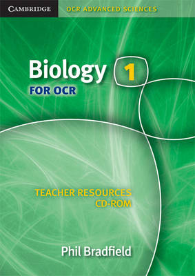 Biology 1 for OCR Teacher Resources CD-ROM - Cambridge OCR Advanced Sciences (CD-ROM)