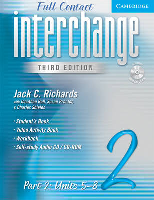 Interchange Full Contact Level 2 Part 2 Units 5-8 with Audio CD/CD-ROM