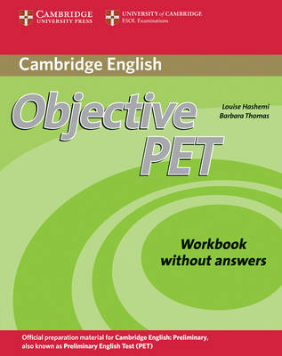 Objective: Objective PET Workbook without answers (Paperback)