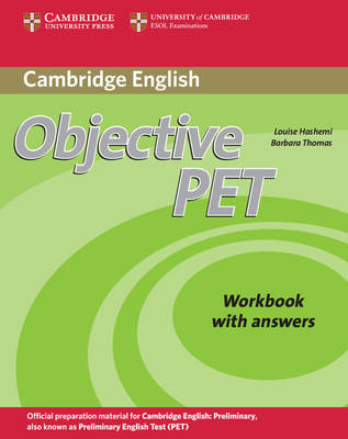 Objective PET Workbook with answers - Objective (Paperback)